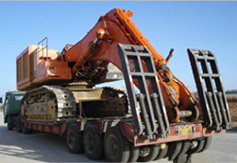 长沙到全国各地大件工程机械设备运输